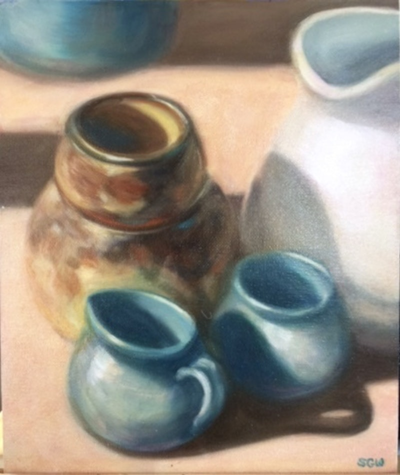 The Blue Milk Jug