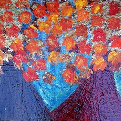 Changing leaves corinne young bluethumb art