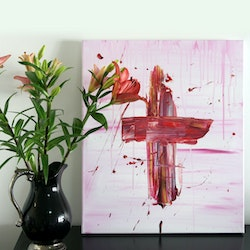 The cross tim christinat bluethumb art