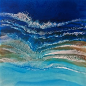 Wave after wave martine vanderspuy bluethumb art
