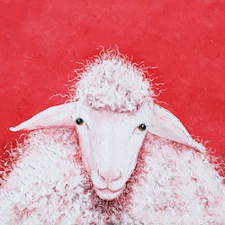Sheep named gabriel jan matson bluethumb art 4aa0