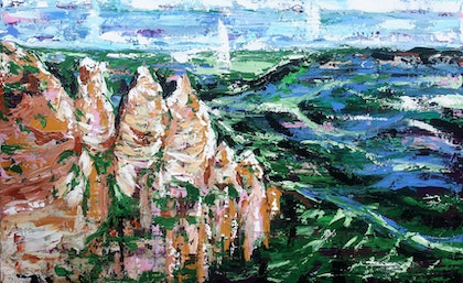 Three Sisters in the Blue Mountains