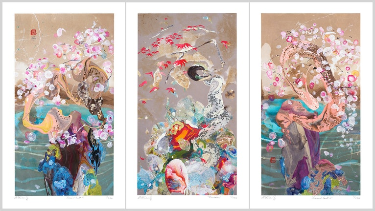 Seasonal Guest Series 3 x LIMITED EDITION PRINTS ed. 3 of 250
