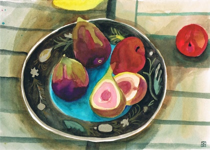 Plums and Figs