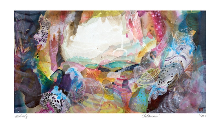 Subterrain LIMITED EDITION PRINT ed.5 of 250