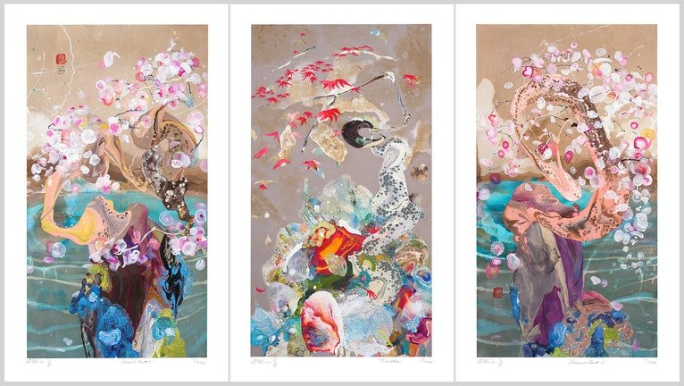 Seasonal Guest Series 3 x LIMITED EDITION PRINTS ed. 4 of 250