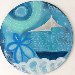 Above the clouds sally okkerse bluethumb art b24b
