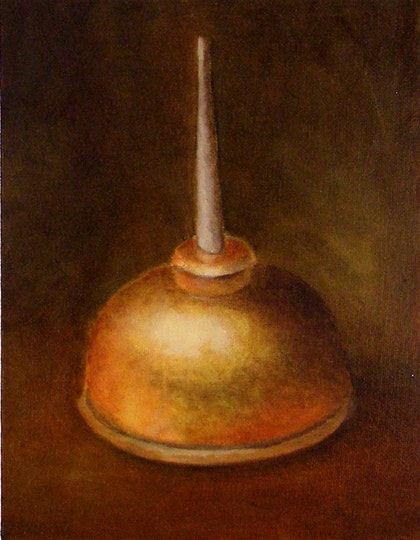 Still Life Sketch with Oil Can