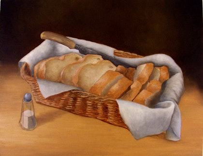 Still Life with Bread and Salt