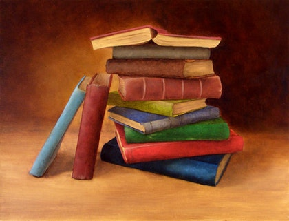 Still Life with Books 1