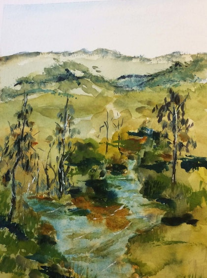 The Hunter River NSW