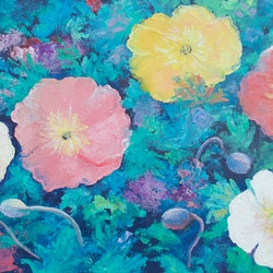 Poppy garden jan matson bluethumb art 4cab