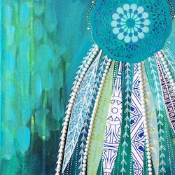 Emerald dreams sally okkerse bluethumb art 270b