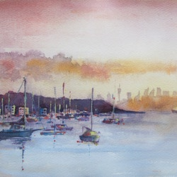 Sydney harbor sunset violetta kurbanova bluethumb art 3c30.jpg?ixlib=rails 2.1