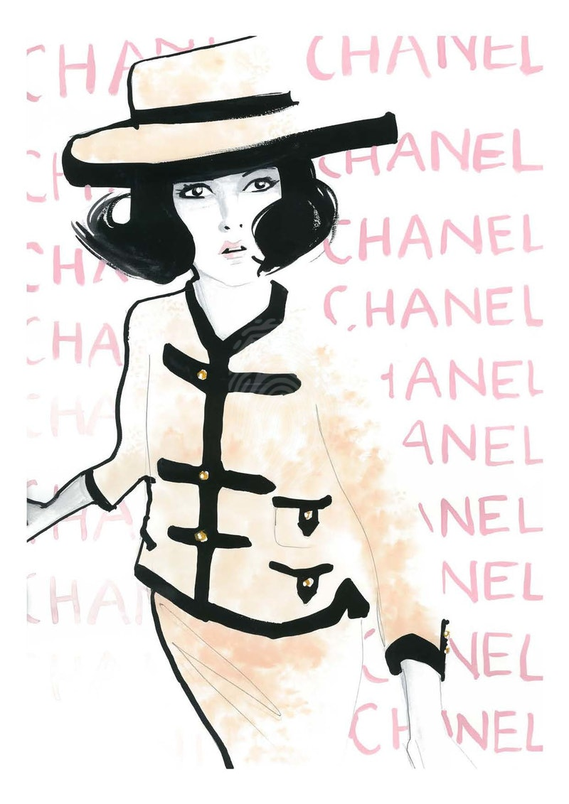Chanel 1961 Limited Edition Print 1 of 25