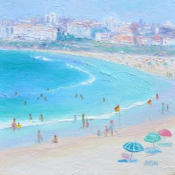 Hot day bondi beach jan matson bluethumb art 8109