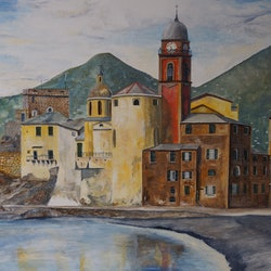 Lido camogli italy christopher johnston bluethumb art 34d5
