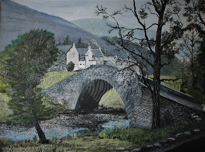 Highland Bridge near Braemar