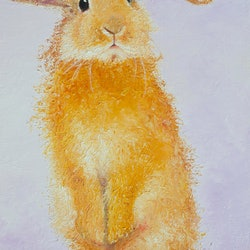 Violet bunny jan matson bluethumb art 2849