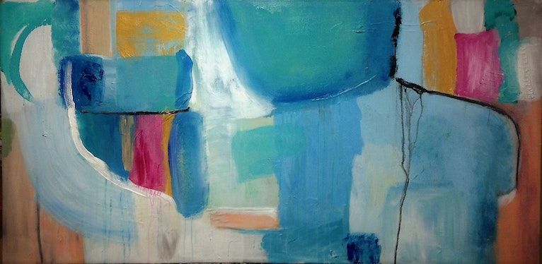 Abstract in Blue