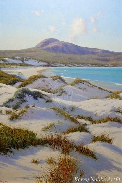 'Morning - Lucky Bay' , W.A.