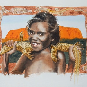 Child of the red centre lance ross bluethumb art 0ca2