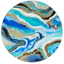 Rhythmic waters amelia farrugia bluethumb art c853