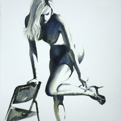 Killer heels pauline adair bluethumb art 7480