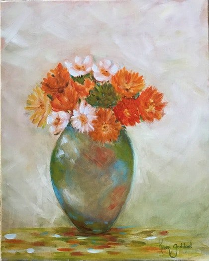 Flowers bring a home to life