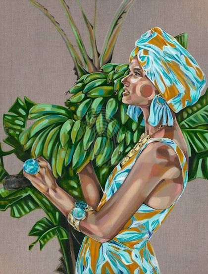 'Zimi Paradise' Limited Edition Signed Print 1/25