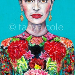 Frida s courage original acrylic painting tanya cole bluethumb art 7a4a