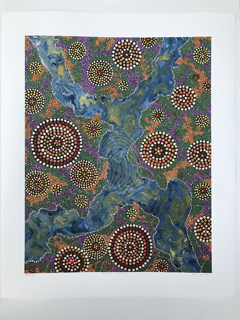 Whadjak Country ( Limited edition print)