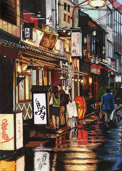 After the Rain - Large Limited Edition Print Ed. 6 of 50