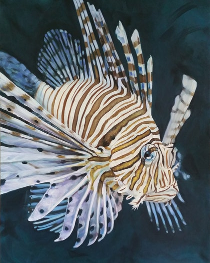 """""""Allure"""" Lionfish Limited Edition Art Print Ed. 6 of 100"""