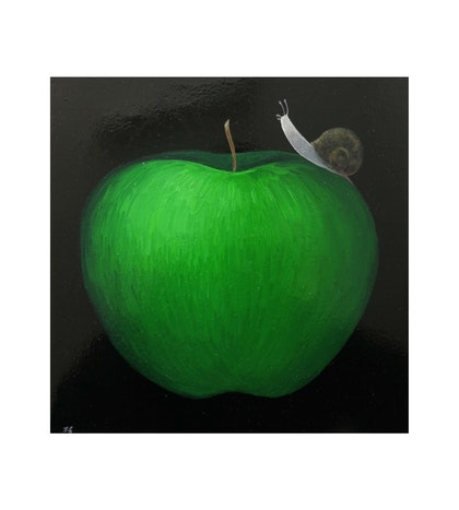 Snail and Apple