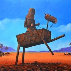 Ned kelly max horst sokolowski bluethumb art e184