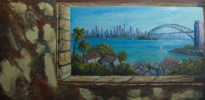 A view on Sydney Harbour