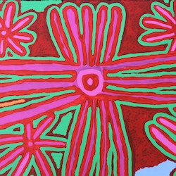 Biddy jurrah long tree and spinifex story catherine jaktman curator bluethumb art 107c