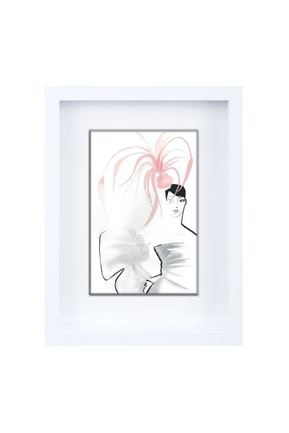 Silly Hat Limited Edition Framed Print Ed. 1 of 25