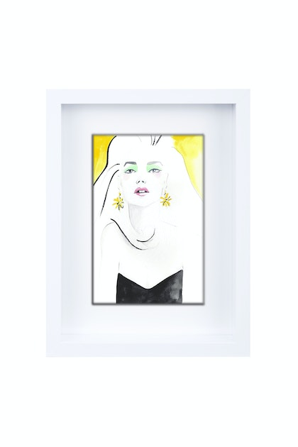 Lulu Limited Edition Framed Print Ed. 1 of 25