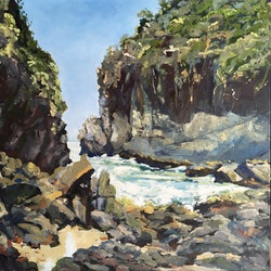 Sugarloaf point meredith howse bluethumb art 6b46