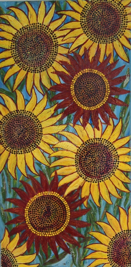 Dancing Sunflowers (1 of 2)