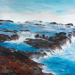 Rocky platform at kilauea lighthouse hawaii meredith howse bluethumb art f23f
