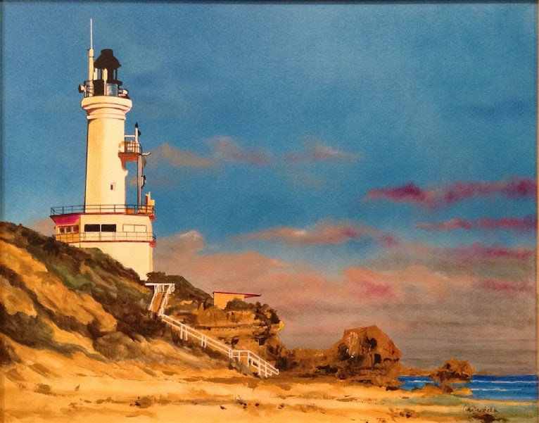 Harbour Light, Point Lonsdale Lighthouse, VIC.