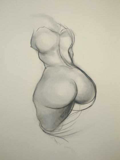 Female Figure Study (Brett Whiteley Studio)
