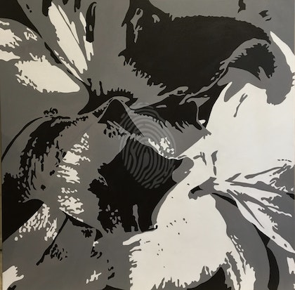 Lillies in Abstraction