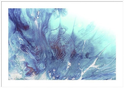 Dreaming Bronte Seascape - Limited Edition Print - OCEAN Seascape Wave  Abstract wall art   Ed. 1 of 10
