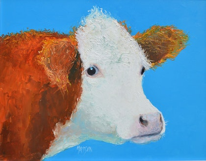 Hereford Cow - Abigail
