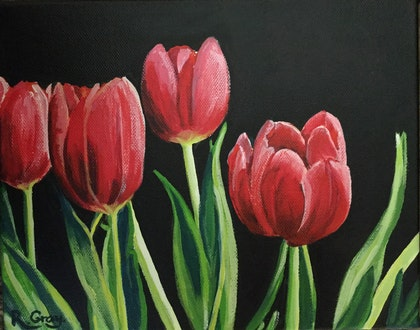 Tulips of Hope - ALL PROFIT TO GO TO SHAKE IT UP FOUNDATION FOR PARKINSONS  RESEARCH