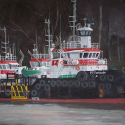 Redland tugs at murrarie don braben bluethumb art f2af